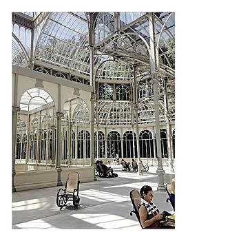 #palaciodecristal #madrid #spain by Angelica Chico