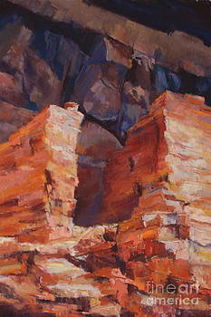 Palatki Cliff Houses by Virginia Dauth