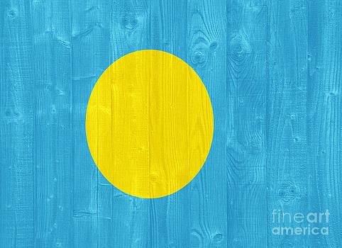 Palau flag by Luis Alvarenga