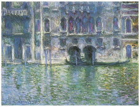 Claude Monet - Palazzo de Mula Venice
