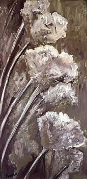 Pale Flowers by Juanita Mulder