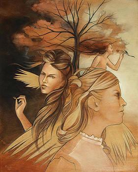 Pale Moonlight Mysticism by Jacque Hudson