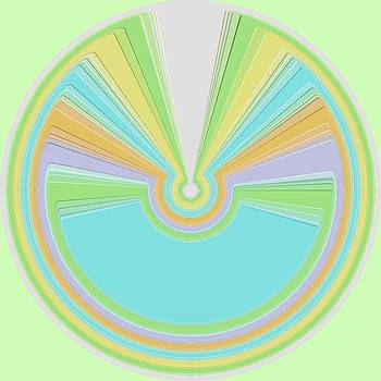 Mary Clanahan - Pale Polar Graphic Art