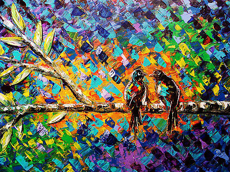 Palette Knife 4 by Paula Shaughnessy