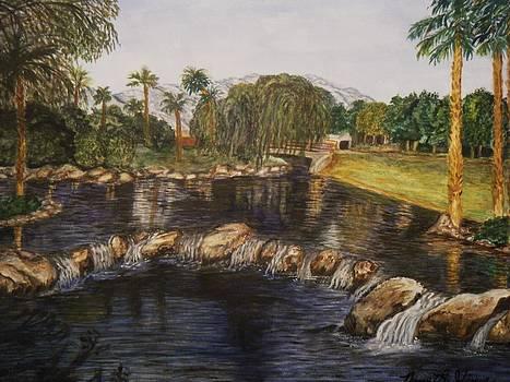 nude bogy art golf landscape cupped