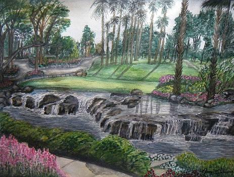 Palm Desert Golf Community by Nancy L Jolicoeur