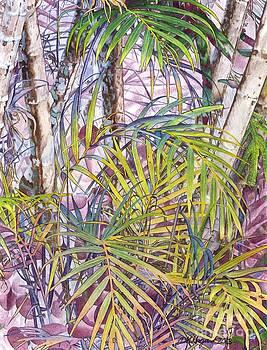 Palm Grove by DK Nagano