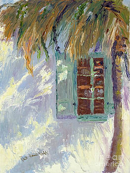 Palm Shadows by Patricia Huff