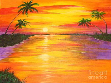 Kami Catherman - Palm Sunset