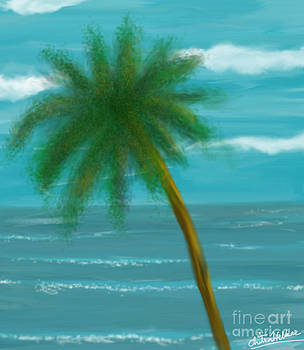 Palm Tree by Chitra Helkar