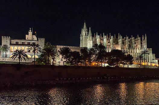 Gary Eason - Palma cathedral Mallorca at night