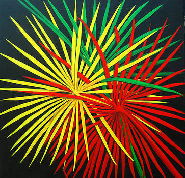 Roseann Gilmore - Palms Bursting