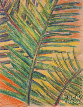 Palms in the Fall by Lee Ann Newsom