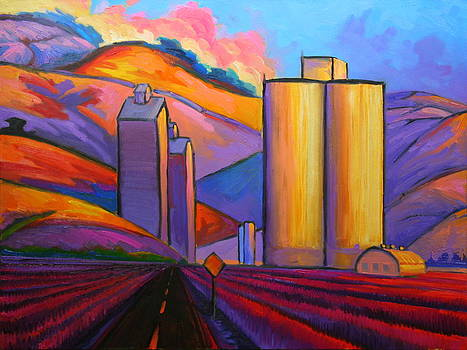 Palouse Farmscape 123 by Gregg Caudell