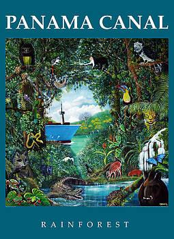 Panama Canal Rainforest by Ricardo Sanchez Beitia