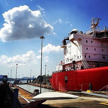 Panama Canal. The Grandeur Itself by Khamid B