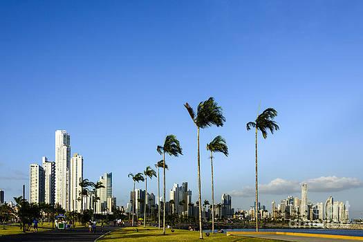 Oscar Gutierrez - Panama City Skyline