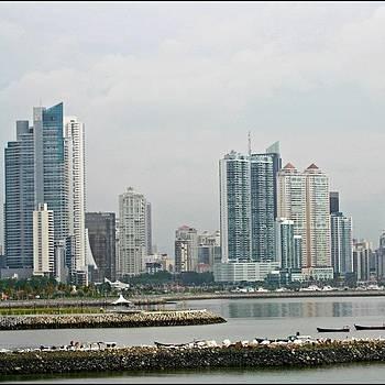 #panamacity #panama #skyscrapers by Kayla  Pearson