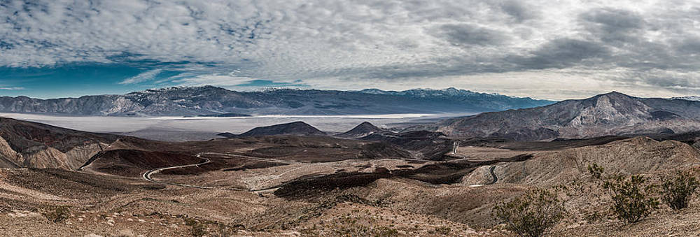 Panamint Valley by Detlev Schwabe