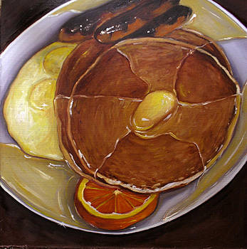 Pancake and Eggs by Vic Vicini