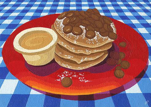 Pancakes week 4 by Meg Shearer