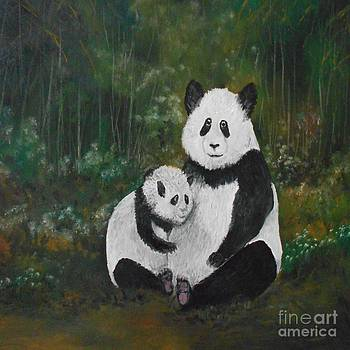 Panda Bear Love by Rhonda Lee