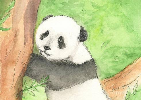 Panda Cub by Erica Vojnich