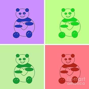 Pandamonium 01 by Ausra Huntington nee Paulauskaite
