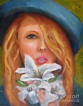 The Parisian Flower Girl by Osborne Lorlinda