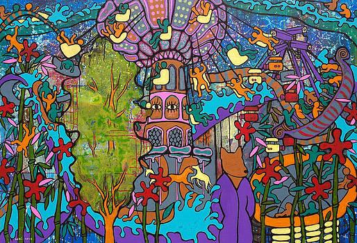 Panopticon-amusement park by Yemi Kim