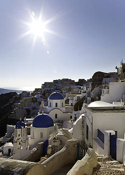 Panorama Greece Santorini 10 by Sentio Photography