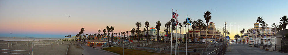 Panorama Huntington Beach by Timothy OLeary