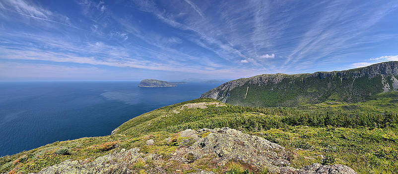 Panorama of the Outer Bay of Islands, Newfoundland by Sebastien Coursol