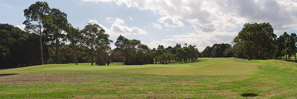 Panorama of the golf course by View Factor Images