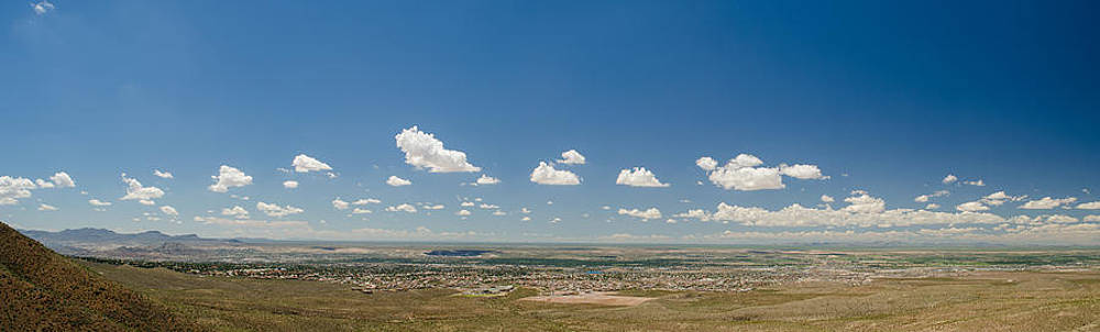 Allen Sheffield - Panorama View of West El Paso