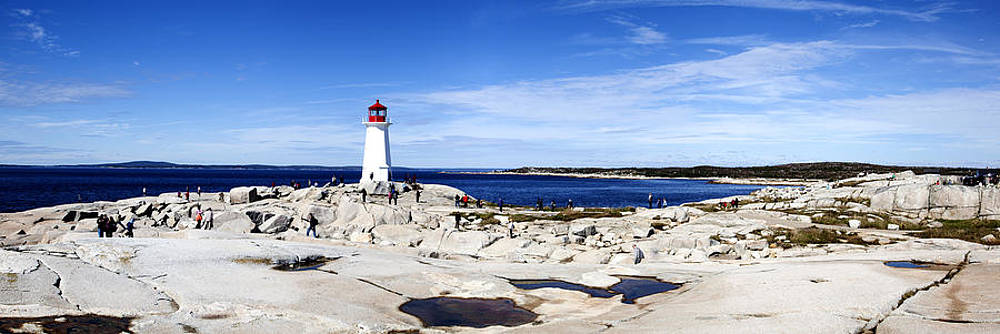 Ramunas Bruzas - Panorama with Canadian Lighthouse