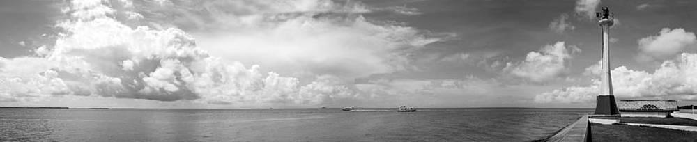 Ramunas Bruzas - Panorama with The Lighthouse