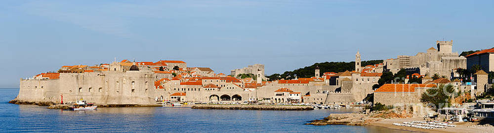 Oscar Gutierrez - Panoramic of the city of Dubrovnik