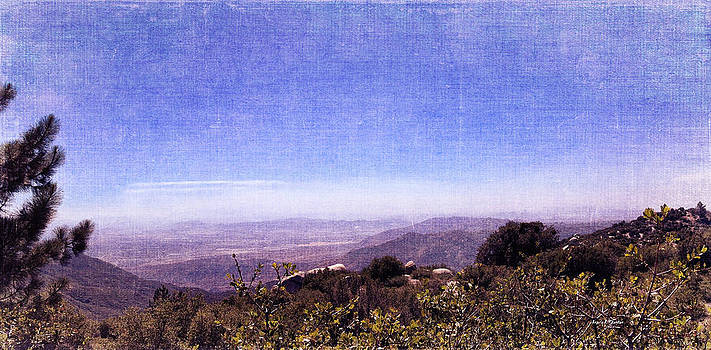 Angela A Stanton - Panoramic View from Idyllwild