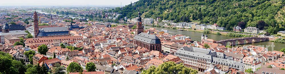 Oscar Gutierrez - Panoramic view of Heidelberg Germany