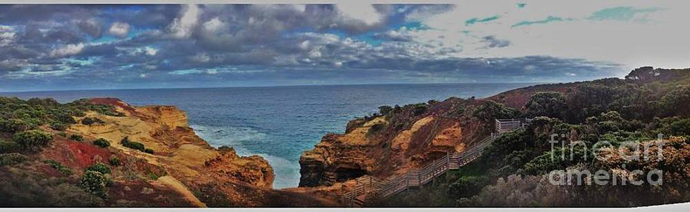 Panoramic view of the Grotto by Blair Stuart