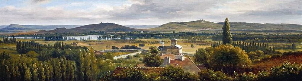 Theodore Rousseau - Panoramic View Of The Ile-De-France