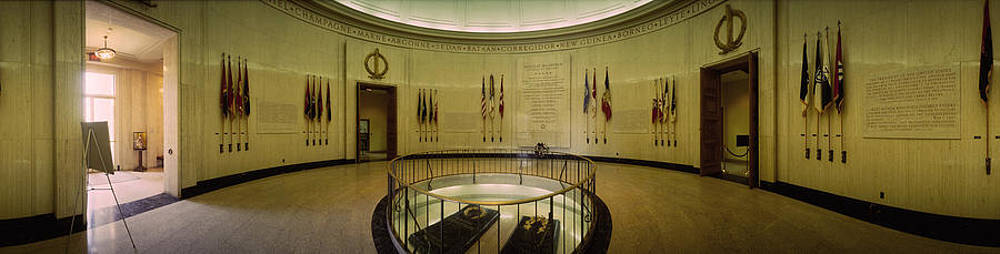 Panoramica View of General Douglas MacArthur Grave Memorial by Thomas D McManus