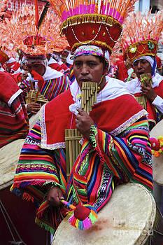 James Brunker - Panpipe Musician Peru