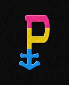Pansexual Pride Symbol by Tavia Starfire