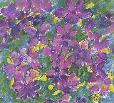 Pansies by Barb Maul