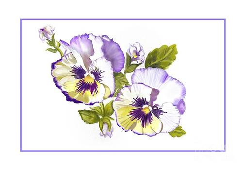 Pansies for Ree by Joan A Hamilton