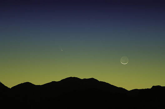 PANSTARRS Comet by John Dickinson