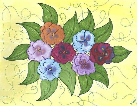 Pansy Posy by Susie WEBER