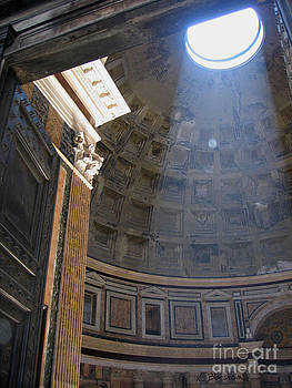 Pantheon I - Roma by Kelly Borsheim